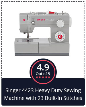 Best Singer Sewing and Embroidery Machine – Singer 4423 Heavy Duty Machine