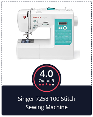 The All-Rounder: Singer 7258 100 Stitch Sewing Machine