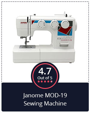 Best Value for Money – Janome MOD-19 Sewing Machine