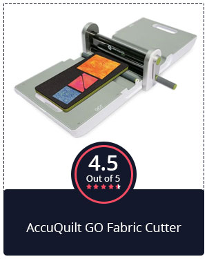 Best for Quilters – AccuQuilt GO Fabric Cutter