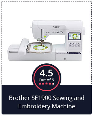 Best for Professionals – Brother SE1900 Sewing and Embroidery Machine