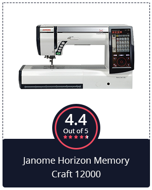 Best for Professionals: Janome Horizon Memory Craft 12000