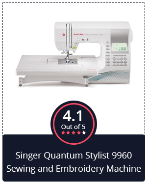 Portable and High-Speed: Singer Quantum Stylist 9960 Sewing and Embroidery Machine