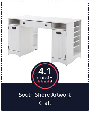 Most Beautiful Sewing Table: South Shore Artwork Craft