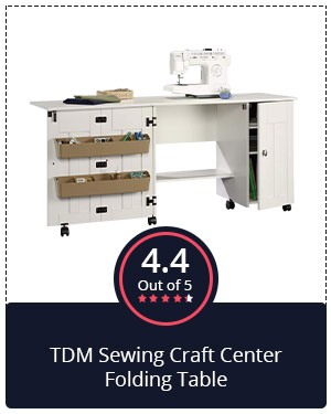 Beautiful & Budget-Friendly: TDM Sewing Craft Center Folding Table