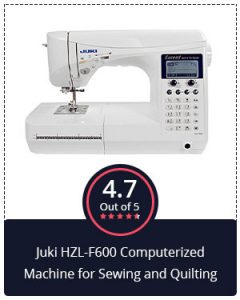 Juki HZL F600 Computerized Machine for Sewing and Quilting