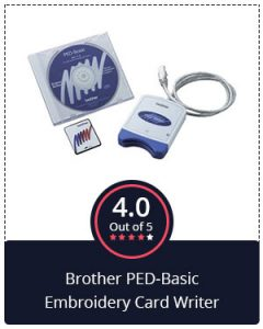 Best Card Writer – Brother PED-Basic Embroidery Card Writer